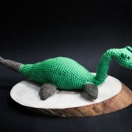 Фото Морской динозаврик по имени Несси игрушка мягкая