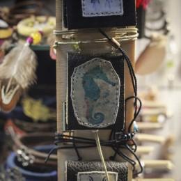Фото Морской конек кулон книга