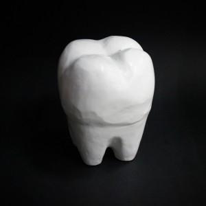 Фото Копилка Зуб большой из гипса