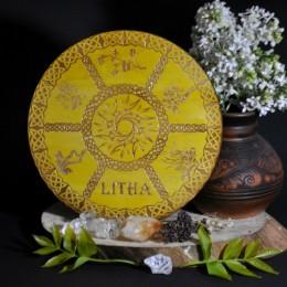 Фото Декор для алтаря - Колесо года Лита