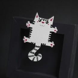 Фото Брошка Кошачьи обнимашки