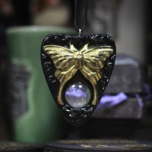 """Фото Планшетка Уиджи """"Мотылек"""" с увеличительным стеклом подвеска"""