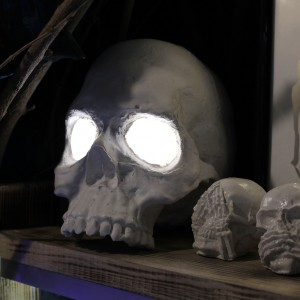 Фото Ночник в виде черепа