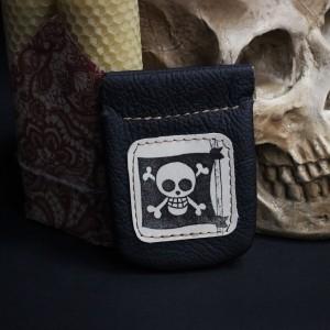 Фото Монетница Пиратский флаг