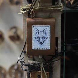 Фото Кулон книжка Полярная лиса