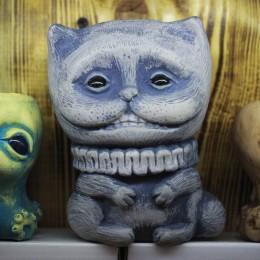 Фото Кашпо для цветов Чеширский кот