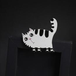 Фото Брошка Полосатый котейка