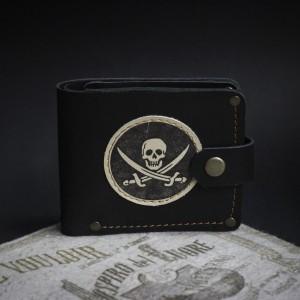 Фото Кошелёк Пиратский флаг