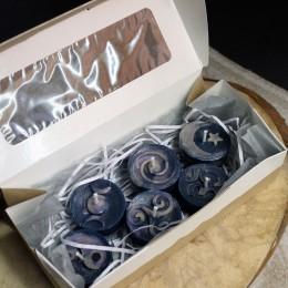 Фото Набор свечей-таблеток из воска