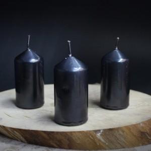 Фото Свеча чёрная маленькая