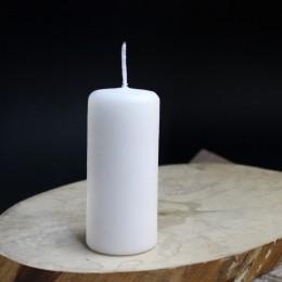 Фото Свеча пеньковая классическая белая