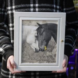 "Фото Ключница ""Две Лошади"""