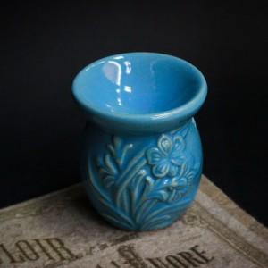 Фото Аромалампа голубая Цветы