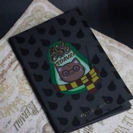 Фото Тетрадь с черными листами Avocato kedavra