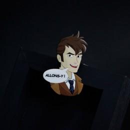 Фото Брошь Allons-y! (Doctor Who)