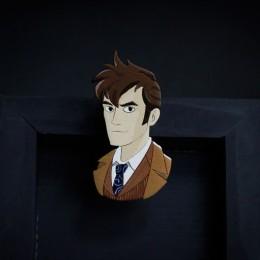 Фото Брошь Десятый Доктор (Doctor Who)