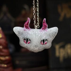 Фото Кулон Рогатый котик Гламур
