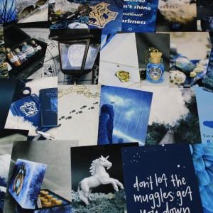 Фото Набор карточек для декора комнаты Когтевран