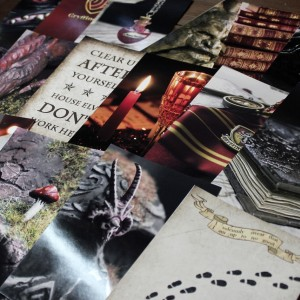 Фото Набор карточек для декора комнаты Гриффиндор