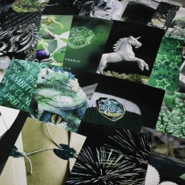 Фото Набор карточек для декора комнаты Слизерин