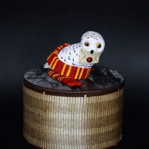 Фото Полярная Сова Букля фигурка керамика
