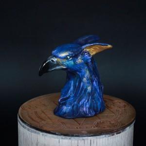 Фото Грозовая птица фигурка керамика