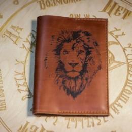Фото Обложка на паспорт Лев