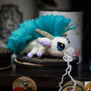 Фото Малыш Хаку - дракончик вязаный крючком