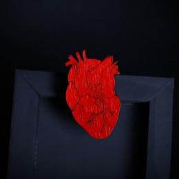 Фото Брошка Анатомическое сердце