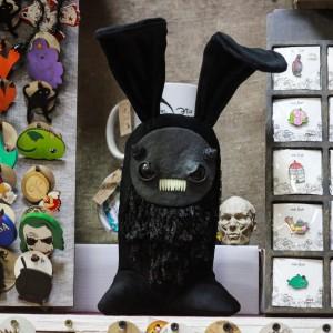 Фото Зайка по имени Гризли авторская игрушка