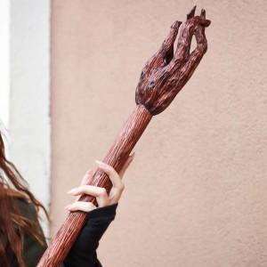 Фото Посох Гендальфа, дерево ручная работа