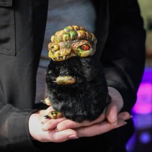 Фото Дракончик Флаффи Бронти авторская игрушка фэнтези