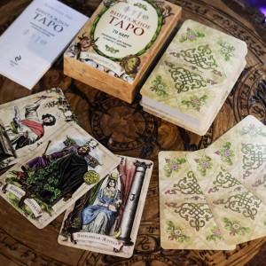 Фото Винтажное Таро 78 карт и инструкция (Рей А.)