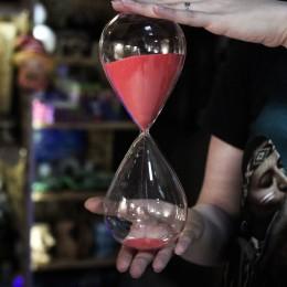 Фото Песочные Часы с красным песком, 1 час