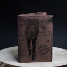 """Фото Обложка на паспорт """"Карантин"""""""