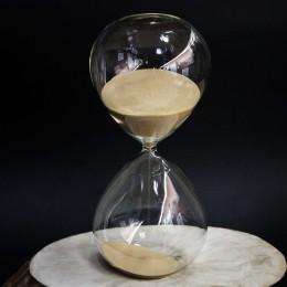 Фото Песочные часы на 30 минут, бежевый