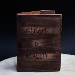 Фото Обложка на паспорт Welcome to REALITY (разные)