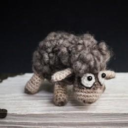 Фото Овечка Долли, игрушка ручной работы