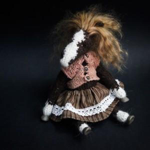 Фото Лошадка Агнесса, игрушка ручной работы