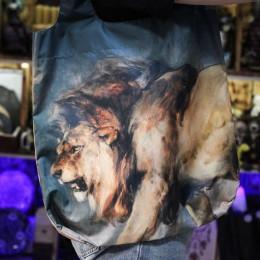 """Фото Шоппер со львом """"Эдвин Ландсир - Study of a Lion"""""""