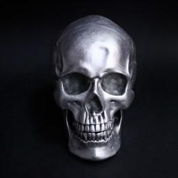 Фото Череп из пластика средний, 15х19 см