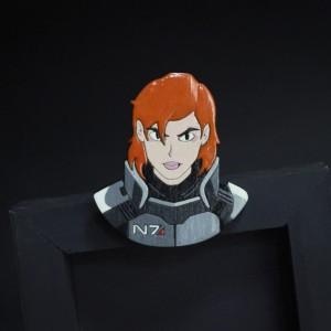 Фото Брошь Шепард - женщина (Mass Effect)