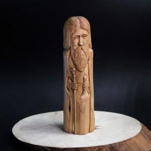 Фото Велес деревянная фигурка из можжевельника