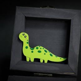 Фото Брошка салатовый динозаврик Дино