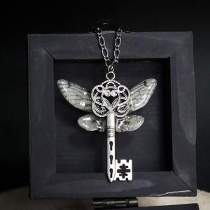 "Фото Кулон с крыльями ""Ключ Ангела"""