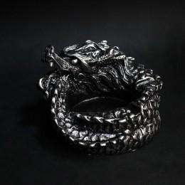Фото Китайский Дракон - гипсовая подставка