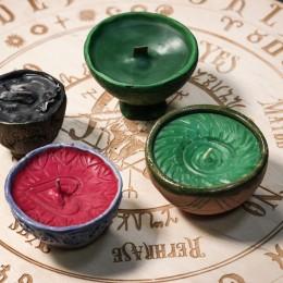 Фото Свеча в керамической чаше