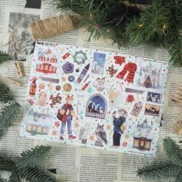 "Фото Стикерпак ""Хогсмид Рождество. Гарри Поттер"", 21х30 см"