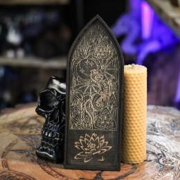 Фото Витражный дракон - подставка с бортиками для аромапалочек