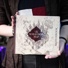 Фото Скетчбук. Гарри Поттер. Карта мародеров